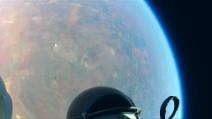 I momenti migliori del lancio di Felix Baumgartner