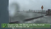 L'uragano Sandy su Ocean City