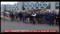 L'arrivo della salma di Marco Simoncelli in Italia