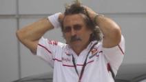Intervista a Paolo Simoncelli, papà di Marco, all'Arena di Giletti