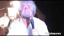 """Beppe Grillo a Cefalù: """"Qua c'è meno mafia che al nord"""""""