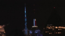 L'Empire State Building festeggia Barack Obama