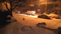 """New York coperta dalla neve: Nor'easter flagella la """"Grande Mela"""""""