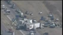Pauroso incidente stradale in Texas
