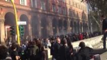 Roma, studenti fermati dalla polizia sul Lungotevere