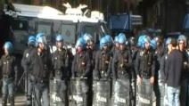 Giornata di scontri tra polizia e manifestanti