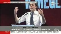 """Renzi racconta l'inizio dell'avventura da """"rottamatore"""""""