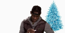 Balotelli fa gli auguri di Natale ai tifosi del Manchester City