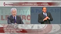 """Berlusconi: """"Che ci importa dello spread? E' solo un imbroglio"""""""