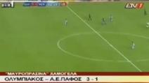 Gran gol da centrocampo: Henrique dell'Olympiakos Nicosia si supera