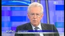 """Monti: «Tantissima gente ci ha detto """"Andate avanti""""»"""