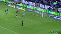 Gran gol di Pizzi in Deportivo-Malaga 1-0