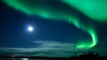 Aurora boreale in Canada: spettacolo mozzafiato
