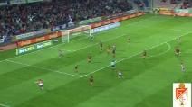 Gran gol di Brayan Angulo in Granada-Valencia 1-2
