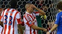 Stoke-Chelsea 0-4: Walters segna due autogol e sbaglia un rigore