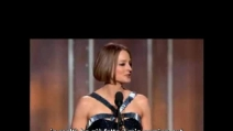 Jodie Foster fa coming out ai Golden Globe 2013 ITA