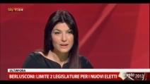 Ilaria D'Amico distrugge Berlusconi su rimborsi elettorali e sondaggi