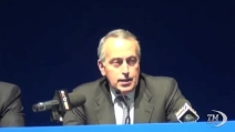 Giancarlo Abete rieletto presidente della FIGC