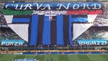Pazza Inter cantata dalla Curva Nord: emozioni allo stato puro