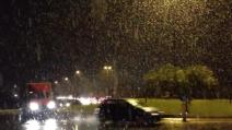 Abbondante nevicata a Verona