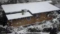 Nevicata a Poggio Cavaliere del 16 Gennaio 2013