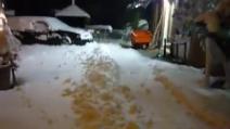 Neve a Castelnuovo di Teolo