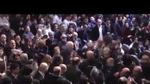 Standing ovation per Bersani a Roma