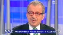 Maroni: L'accordo con il Pdl mi serve per vincere la Lombardia