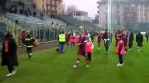 Insulti razzisti dei tifosi del Treviso nei confronti dei giocatori del Trapani