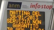 Niente soldi, niente carburante, niente bus: disagi a Napoli