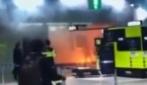 Si dà fuoco all'aeroporto di Fiumicino: salvato, è in gravissime condizioni