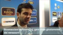 """Stramaccioni: """"L'Inter ha meritato ma il ritorno sarà difficile"""""""