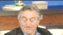 Robert De Niro scoppia a piangere in diretta tv