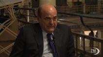 Bersani: all'opposizione potrebbe andare la presidenza di una camera