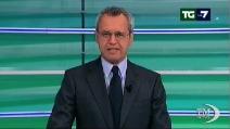 Mentana e l'editoriale in diretta sulla vendita di La7