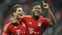 Bayern Monaco-Schalke 4-0: Schweinsteiger e Alaba protagonisti