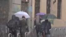 Freddo nel nord Italia: a Milano neve fino a martedì mattina