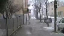 Bufere di neve in provincia di Venezia