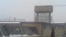 Novara sotto la neve