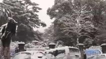 A Genova scuole chiuse a causa della neve