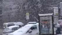 Neve nel basso Lazio