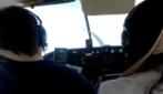 Un aereo precipita, lo schianto ripreso da un passeggero