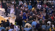 NBA: rissa tra i Golden State Warriors e gli Indiana Pacers