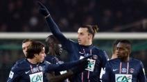 La doppietta di Ibrahimovic decide PSG-Marsiglia 2-0