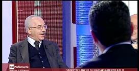 PAOLO FERRARO a Rai Parlamento Elezioni 2013 Tavola rotonda