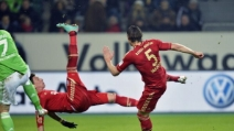 Super rovesciata di Mandzukic in Wolfsburg-Bayern Monaco