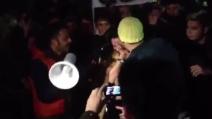 Cristina Del Basso vittima de Le Iene a Sanremo 2013