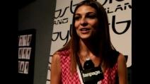 """Cristina Chiabotto: """"Lavoro e amore vanno a gonfie vele""""   Backstage Byblos Milano fall winter 2013-14"""