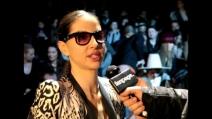 """Benedetta Mazzini: """"Adoro Roberto Cavalli""""   Roberto Cavalli Fashion Show autunno inverno 2013-14"""
