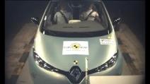 Crash test della Renault ZOE